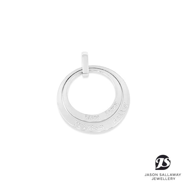Name Circle Pendant / Charm