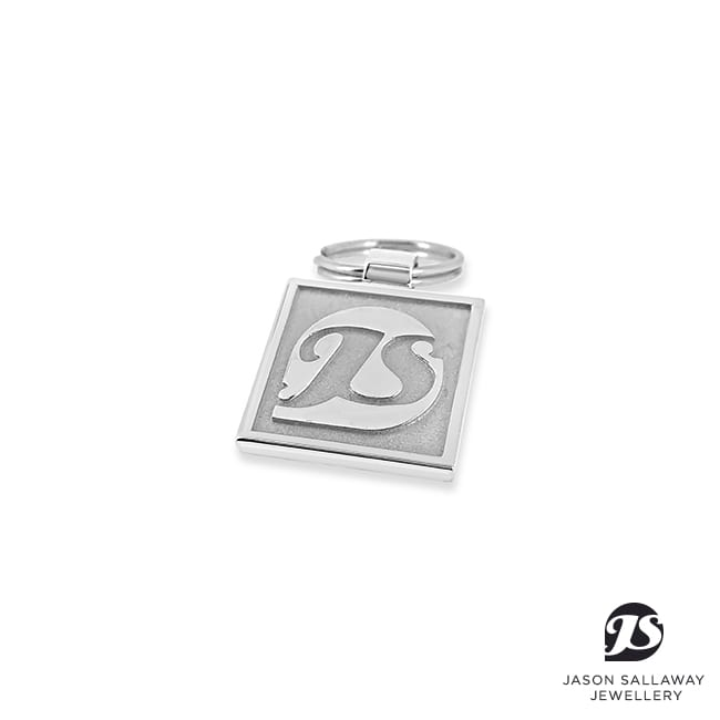 Business Logo Keyring