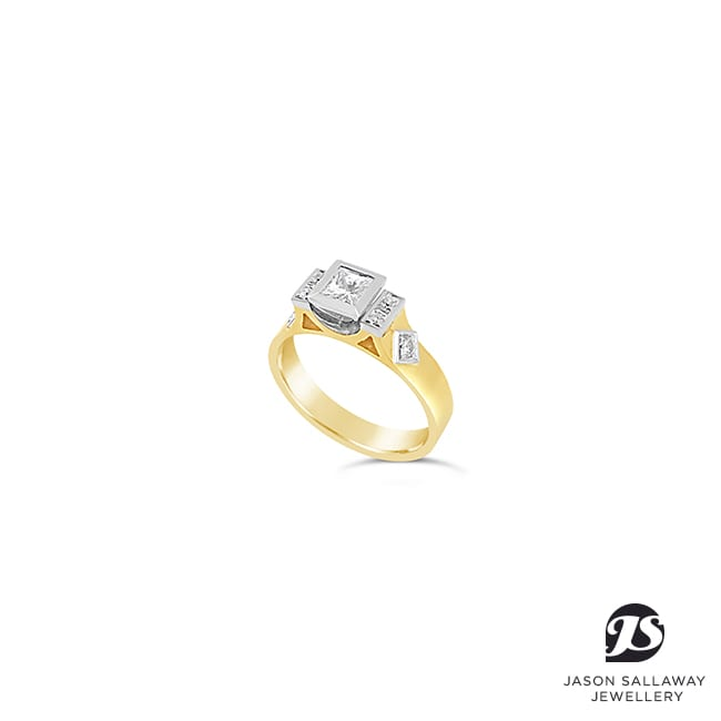 Diamond Engagement Ring | JSJ-00054