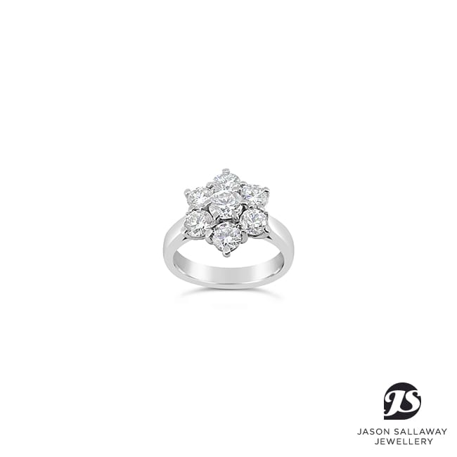 Diamond Engagement Dress Ring | JSJ-00055