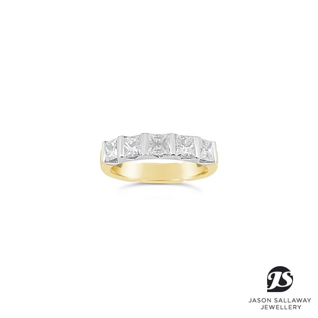 Diamond Eternity Wedding Ring | JSJ-00058