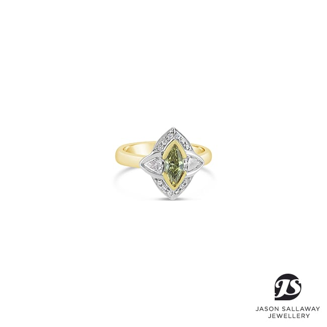 Coloured Gem Ring | JSJ-00064
